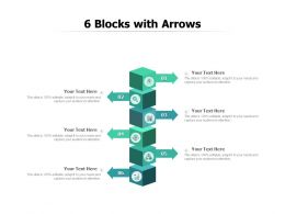 6 Blocks With Arrows
