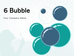 6 Bubble Importance Advertising Product Technological Strategic Infrastructure Management