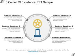 6 Center Of Excellence Ppt Sample