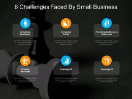 6 Challenges Faced By Small Business