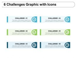 6 Challenges Graphic With Icons