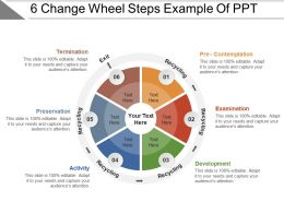 6 Change Wheel Steps Example Of PPT
