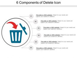 6 Components Of Delete Icon