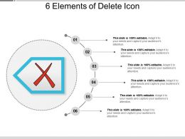 6 Elements Of Delete Icon