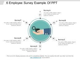 6 Employee Survey Example Of Ppt