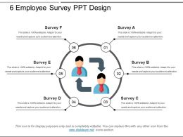 6 Employee Survey Ppt Design