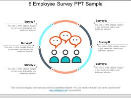 6 Employee Survey Ppt Sample