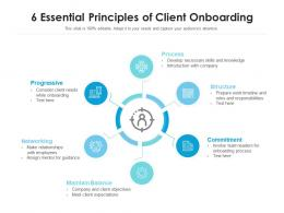 6 Essential Principles Of Client Onboarding