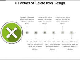 6 Factors Of Delete Icon Design