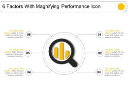 6 Factors With Magnifying Performance Icon
