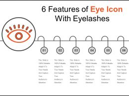 6 Features Of Eye Icon With Eyelashes