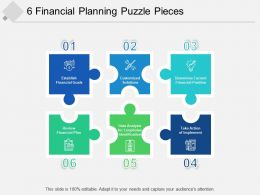 6 Financial Planning Puzzle Pieces