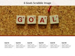 6 Goals Scrabble Image