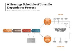 6 Hearings Schedule Of Juvenile Dependency Process