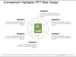 6_investment_highlights_ppt_slide_design_Slide01