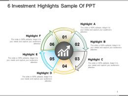 6 Investment Highlights Sample Of Ppt