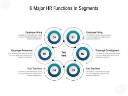 6 Major HR Functions In Segments
