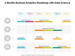 6 Months Business Analytics Roadmap With Data Science