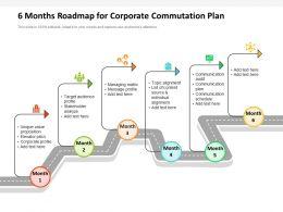 6 Months Roadmap For Corporate Commutation Plan