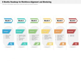 6 Months Roadmap For Workforce Alignment And Mentoring