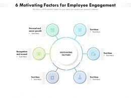 6 Motivating Factors For Employee Engagement