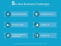 6 New Business Challenges