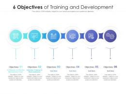 6 Objectives Of Training And Development