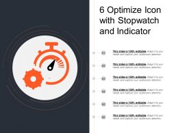 6 Optimize Icon With Stopwatch And Indicator