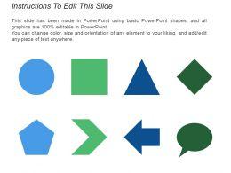 6 Piece Puzzle Circular Diagram Arranged Side By Side