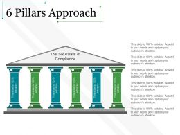6 Pillars Approach Example Of Ppt