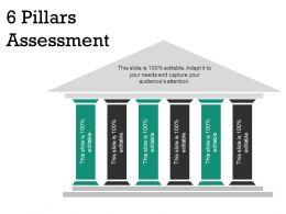 6 Pillars Assessment Sample Of Ppt