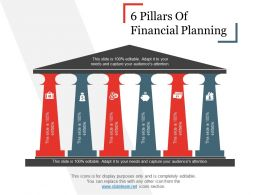 6 Pillars Of Financial Planning Powerpoint Guide
