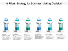 6 Pillars Strategy For Business Making Decision