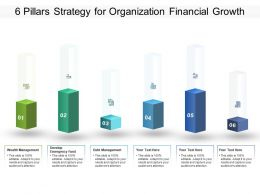 6 Pillars Strategy For Organization Financial Growth