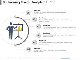 6 Planning Cycle Sample Of Ppt