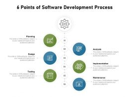 6 Points Of Software Development Process