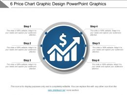 6 Price Chart Graphic Design Powerpoint Graphics