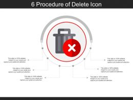 6 Procedure Of Delete Icon