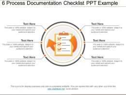 6 Process Documentation Checklist Ppt Example