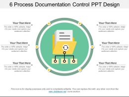 6 Process Documentation Control Ppt Design