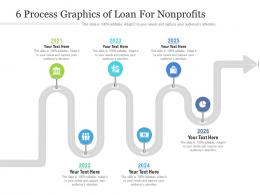 6 Process Graphics Of Loan For Nonprofits Infographic Template