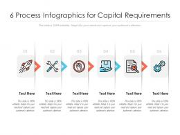 6 Process Infographics For Capital Requirements Template