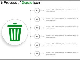6 Process Of Delete Icon