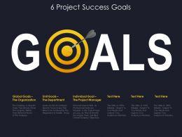 6 Project Success Goals
