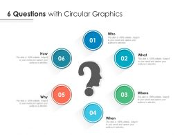 6 Questions With Circular Graphics