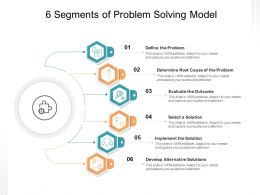 6 Segments Of Problem Solving Model