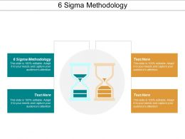 6 Sigma Methodology Ppt Powerpoint Presentation Model Portfolio Cpb