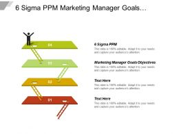 6 Sigma Ppm Marketing Manager Goals Objectives Pugh Matrix Cpb