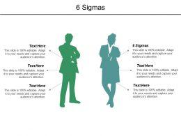 6 Sigmas Ppt Powerpoint Presentation Diagram Graph Charts Cpb