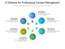 6 Software For Professional Contact Management
